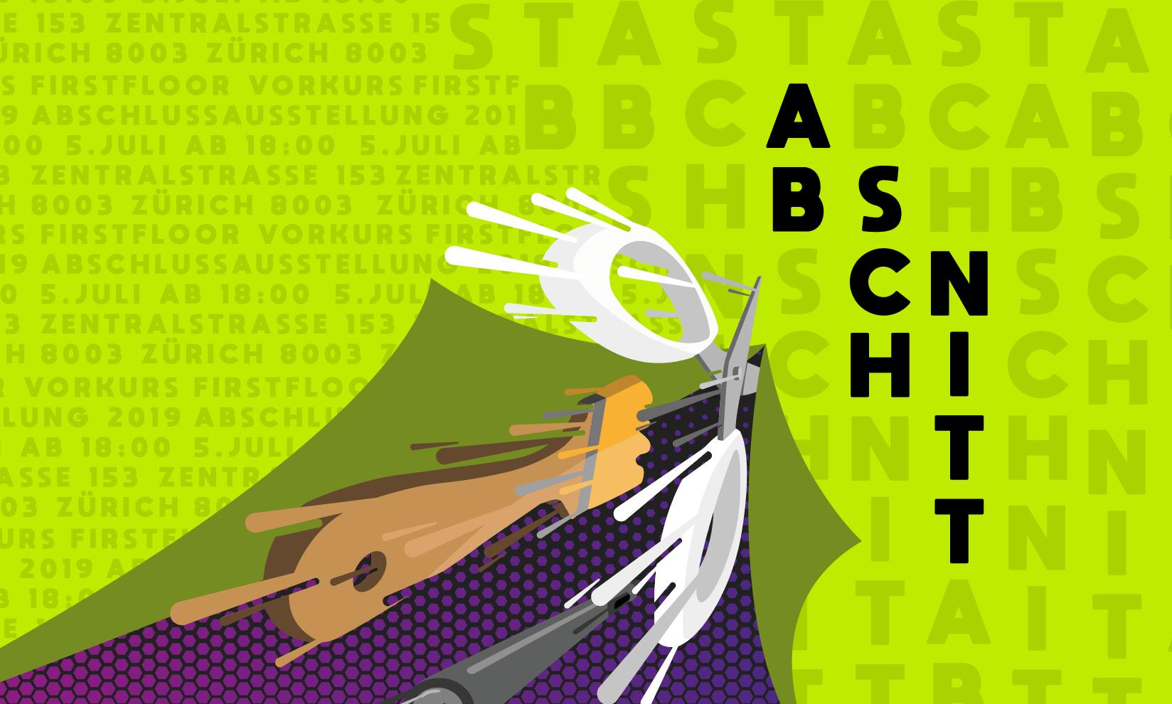 firstfloor Gestaltungsschule Gestalterischer Vorkurs Abschlussausstellung 2019